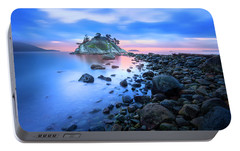 Portable Battery Charger featuring the photograph Gentle Sunrise by John Poon
