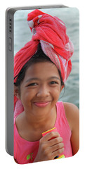 Portable Battery Charger featuring the photograph Genuine Smiles Are Simple by Jez C Self