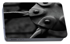Portable Battery Charger featuring the photograph Geodome Climber by Richard Rizzo