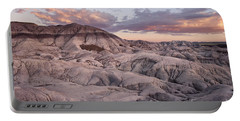 Portable Battery Charger featuring the photograph Geology Lesson by Melany Sarafis