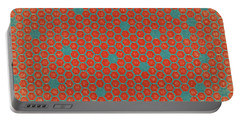 Portable Battery Charger featuring the digital art Geometric 1 by Bonnie Bruno