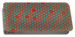 Portable Battery Charger featuring the digital art Geometric 2 by Bonnie Bruno