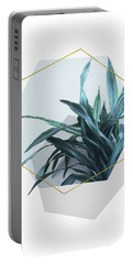 Geometric Jungle Portable Battery Charger