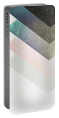 Geometric Layers Portable Battery Charger
