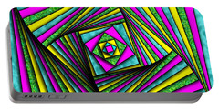 Geometry Art Portable Battery Charger