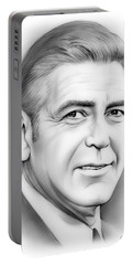 George Clooney Portable Battery Charger