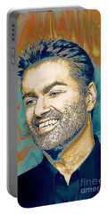 George Michael - Tribute  Portable Battery Charger