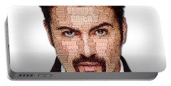 George Michael Tribute Portable Battery Charger
