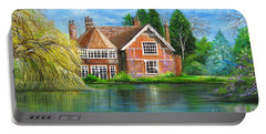 George Michaels Estate In Goring,england Portable Battery Charger by Patrice Torrillo