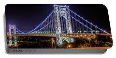 George Washington Bridge - Memorial Day 2013 Portable Battery Charger
