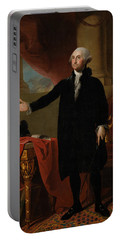 George Washington Lansdowne Portrait Portable Battery Charger