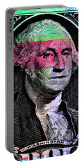 George Washington Pop Art Portable Battery Charger