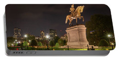 George Washington Standing Guard Portable Battery Charger