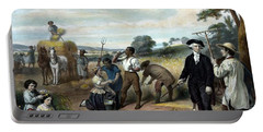 George Washington The Farmer Portable Battery Charger