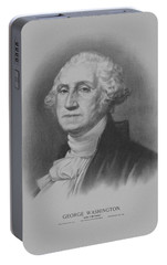 George Washington Portable Battery Charger by War Is Hell Store