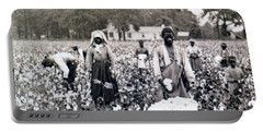 Georgia Cotton Field - C 1898 Portable Battery Charger