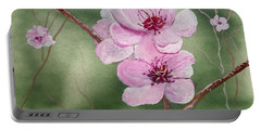 Georgia Peach Blossoms Portable Battery Charger