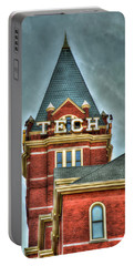 Georgia Tech Tower 8 Georgia Institute Of Technology Art Portable Battery Charger