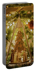 German Christmas Pyramid Portable Battery Charger