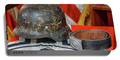 German Helmet Portable Battery Charger