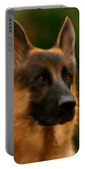 German Shepherd Portable Battery Charger