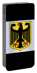 Portable Battery Charger featuring the drawing Germany Coat Of Arms by Movie Poster Prints