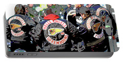 Germany Trial Hell Angels Motorcycle Club Portable Battery Charger