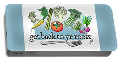 Get Back To Yr Rootz Portable Battery Charger