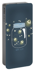 Get Lit Portable Battery Charger by Heather Applegate