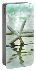 Portable Battery Charger featuring the photograph Get Your Feet Wet by Laura Fasulo