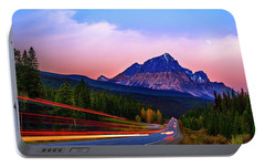 Portable Battery Charger featuring the photograph Get Your Motor Running by John Poon
