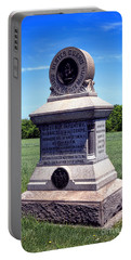 Gettysburg National Park 80th Ny Infantry Militia Memorial Portable Battery Charger