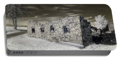 Gettysburg - Rose Farm Ruins Portable Battery Charger