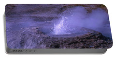 Geyser Cone, Iceland Portable Battery Charger