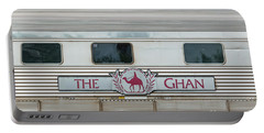 Ghan Train At Alice Springs Portable Battery Charger