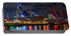Ghost Ballet In Nashville Portable Battery Charger by Frozen in Time Fine Art Photography