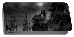 Ghost Castle Portable Battery Charger