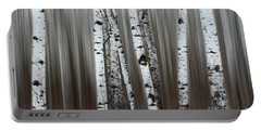 Portable Battery Charger featuring the photograph Ghost Forest 1 by Bob Christopher