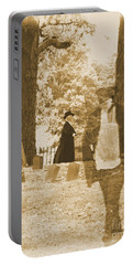 Ghost In The Graveyard Portable Battery Charger