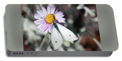 Ghost Moth In Pastel Portable Battery Charger