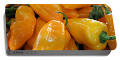 Ghost Peppers Portable Battery Charger by Kristin Elmquist