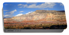 Portable Battery Charger featuring the photograph Ghost Ranch New Mexico by Kurt Van Wagner