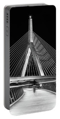 Ghost Rider At Zakim Bridge Portable Battery Charger