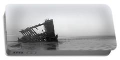 Ghost Ship Portable Battery Charger by Joseph Skompski