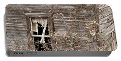 Ghostly Abndoned House Portable Battery Charger