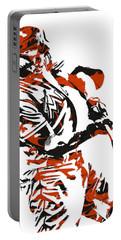 Giancarlo Stanton Miami Marlins Pixel Art 3 Portable Battery Charger