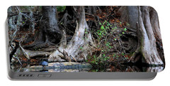 Giant Cypress Knees Portable Battery Charger