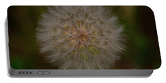 Giant Dandelion Portable Battery Charger by John Roberts