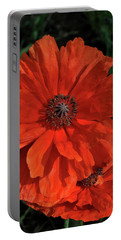 Giant Mountain Poppy Portable Battery Charger