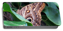 Giant Owl Butterfly Portable Battery Charger